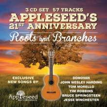 Appleseed's 21st Anniversary: Roots And Branches, 3 CDs