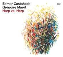 Edmar Castaneda & Grégoire Maret: Harp Vs. Harp, CD