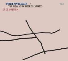 Peter Apfelbaum (geb. 1960): It Is Written, CD
