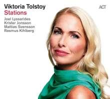 Viktoria Tolstoy (geb. 1974): Stations, CD