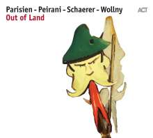 Emile Parisien, Vincent Peirani, Andreas Schaerer & Michael Wollny: Out Of Land, CD