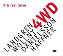 Nils Landgren, Michael Wollny, Lars Danielsson & Wolfgang Haffner: 4 Wheel Drive (180g) (signiert, exklusiv für jpc), LP