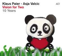 Klaus Paier & Asja Valcic: Vision For Two - 10 Years, CD
