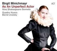 Birgit Minichmayr: As An Unperfect Actor - Nine Shakespeare Sonnets (180g), LP