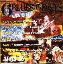 6 Blues Giants Live 1 /: 6 Blues Giants Live 1 / Variou, CD