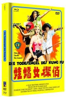 Die Todesengel des Kung Fu (Blu-ray & DVD im Mediabook), 1 Blu-ray Disc und 1 DVD