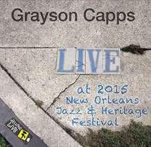 Grayson Capps: Jazzfest 2015, CD