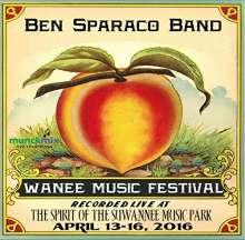 Ben Band Sparaco: Live At Wanee 2016, CD