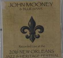 John Mooney: Live At Jazzfest 2016, CD