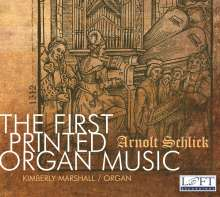 Kimberly Marshall - The First Printed Organ Music, CD