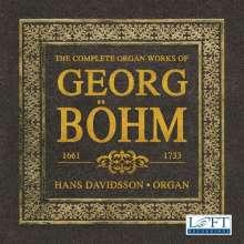 Georg Böhm (1661-1733): Orgelwerke (Ges.-Aufn.), 3 CDs