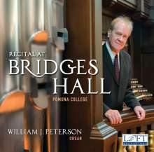 William J. Peterson - Recital At Bridges Hall, CD