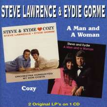 Steve Lawrence & Eydie Gorme: Cozy/A Man & A Woman, CD