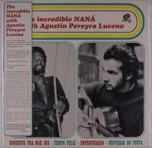 Naná Vasconcelos & Agustin Pereyra Lucena: The Incredible Nana (Reissue), LP