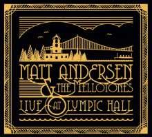 Matt Andersen: Live At Olympic Hall 2014, CD