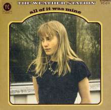 The Weather Station: All Of It Was Mine, CD