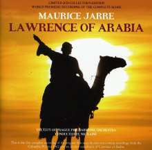 Maurice Jarre (1924-2009): Filmmusik: Lawrence Of Arabia (O.S.T.), 2 CDs