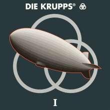 Die Krupps: I (Reissue) (Limited Edition) (Blue Vinyl), 2 LPs