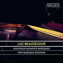 Luc Beausejour - Nouveaux Moments Baroques Au Piano, CD