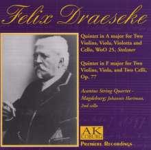 Felix Draeseke (1835-1913): Streichquintette WoO 25 & op.77, CD