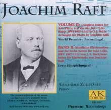 Joachim Raff (1822-1882): Klavierwerke Vol.II, CD