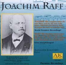 Joachim Raff (1822-1882): Klavierwerke Vol.III, CD