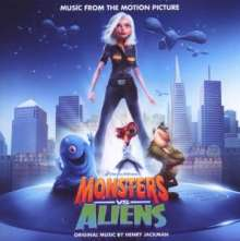 Filmmusik: Monsters Vs. Aliens, CD