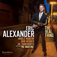 Eric Alexander (geb. 1968): The Real Thing, CD