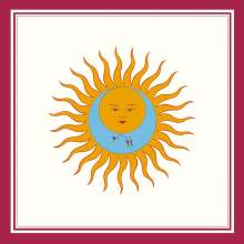 King Crimson: Lark's Tongues In Aspic (Limited Edition Boxed Set), 13 CDs, 1 DVD-Audio und 1 Blu-ray Disc