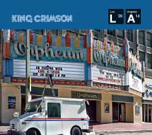 King Crimson: Live At The Orpheum 2014 (CD + DVD-Audio), 2 CDs