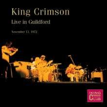 King Crimson: Live in Guildford, November 13th,1972, CD