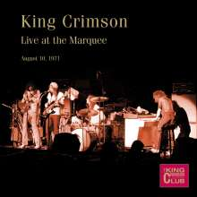 King Crimson: Live at The Marquee, London,August 10th,1971, 2 CDs