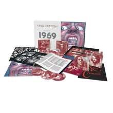 King Crimson: The Complete 1969 Recordings, 20 CDs, 1 DVD, 1 DVD-Audio, 3 Blu-ray Audio und 1 Blu-ray Disc