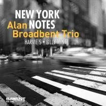 Alan Broadbent (geb. 1947): New York Notes, CD
