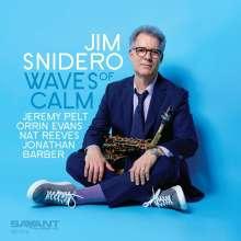 Jim Snidero (geb. 1958): Waves Of Calm, CD