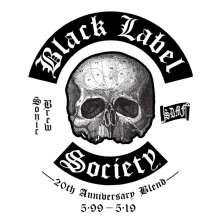 Black Label Society: Sonic Brew - 20th Anniversary Blend 5.99 - 5.19 (180g) (Clear Vinyl), 2 LPs