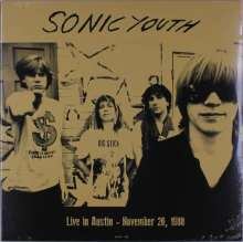Sonic Youth: Live In Austin November 26, 1988, LP