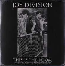 Joy Division: This Is The Room - Live Electric Ballroom London October 26, 1979 (Limited-Edition), LP