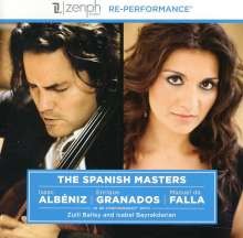 Zuill Bailey: Spanish Masters, CD
