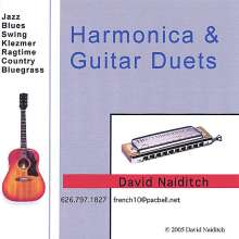 David Naiditch: Harmonica & Guitar Duets, CD
