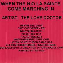 Love Doctor: When The N.O.L.A. Saints Come, CD