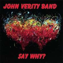 John Verity: Say Why?, CD