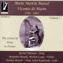Marie-Martin Marcel Marin (1769-1861): Nouvelle grande sonate pour la harpe op.31, CD