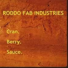 Roddo Fab Industries: Cran Berry Sauce, CD