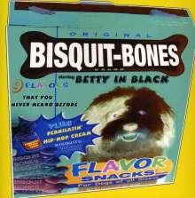 Betty In Black: Bisquit Bones, CD