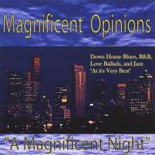 Magnificent Opinions: A Magnificent Night, CD