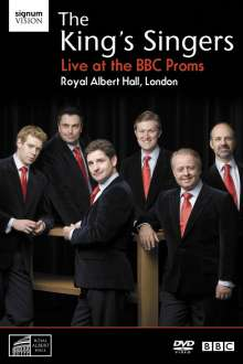 King's Singers - Live at the BBC Proms, DVD