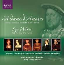Madame D'Amours - Music For The Six Wives Of Henry VIII, CD