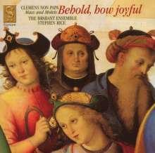 """Jacobus Clemens non Papa (1510-1556): Messe """"Ecce quam bonum"""", CD"""