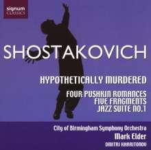 Dmitri Schostakowitsch (1906-1975): Hypothetically Murdered - Suite op.31a, CD